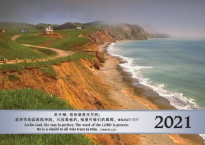 Calendar cover 2021 CHINESE
