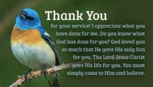 ThankYou_3.5x2 Message card 2021 blue bird front