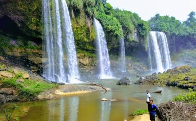 Crazy waterfalls in Nigeria