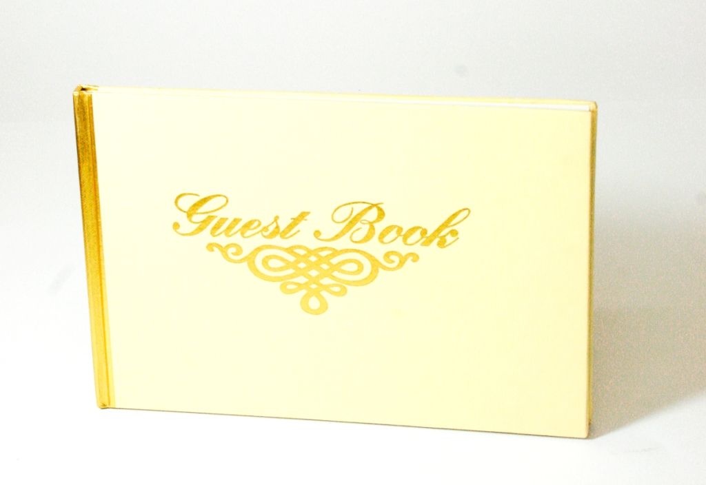 valiant guest book small