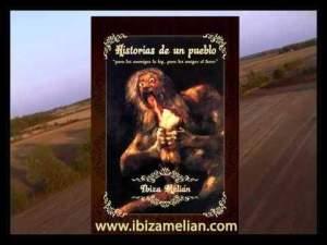 Portada del libro escrito por Ibiza Melián, Historias de un pueblo