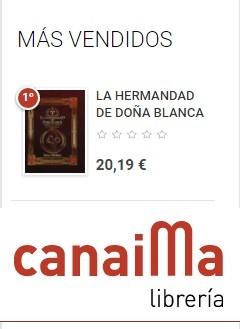 Más vendido librería Canaima - nº 1