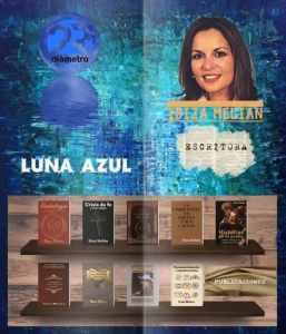 Entrevista a Ibiza Melián en el programa literario Luna Azul de Radio Diámetro