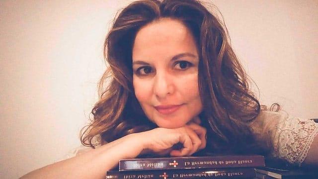 La escritora canaria Ibiza Melián
