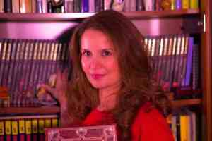 La escritora Ibiza Melián