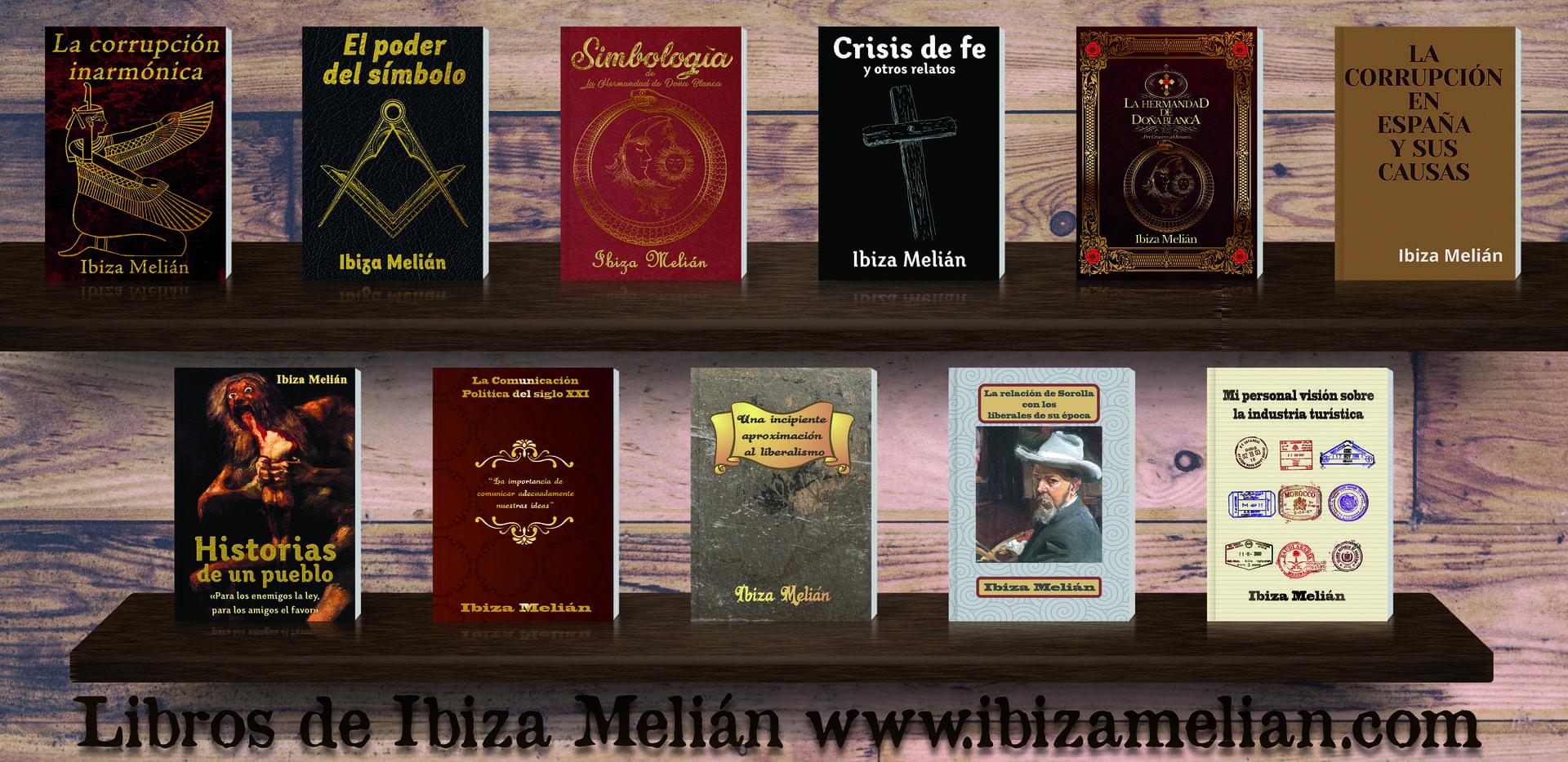 Libros escritos por Ibiza Melián