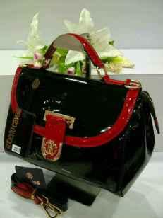 E00 Roberto Cavalli 0018 Black Glossy SemSup 28x15x21