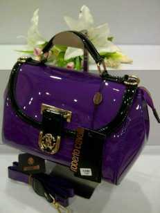 E00 Roberto Cavalli 0018 Purple Glossy SemSup 28x15x21