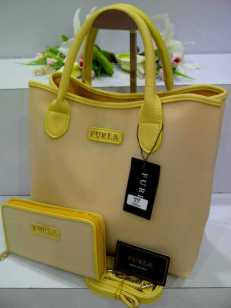 ED0 Furla Maribel Gliter Set 966 Yellow SemSup 30x15x28