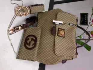 Gucci asaty 241168 semsup (cco) 32x16x25 3in1 tas dompet tali pinggang(2)