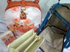 Ransel Furla 009 3funsi (bdo) 1set 31x10x40 taiga kombinasi kulit