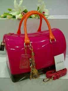 RD0 Furla Candy 3 Tone F8888 Pink Fanta Semi Ori 30x18x21 (Bahan Tebal Kwalitas Harga 500)