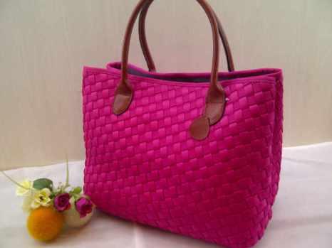 Sale Maribel Semi Ori bahan polyester gagan kulit asli 35x28x19 pink fanta 300