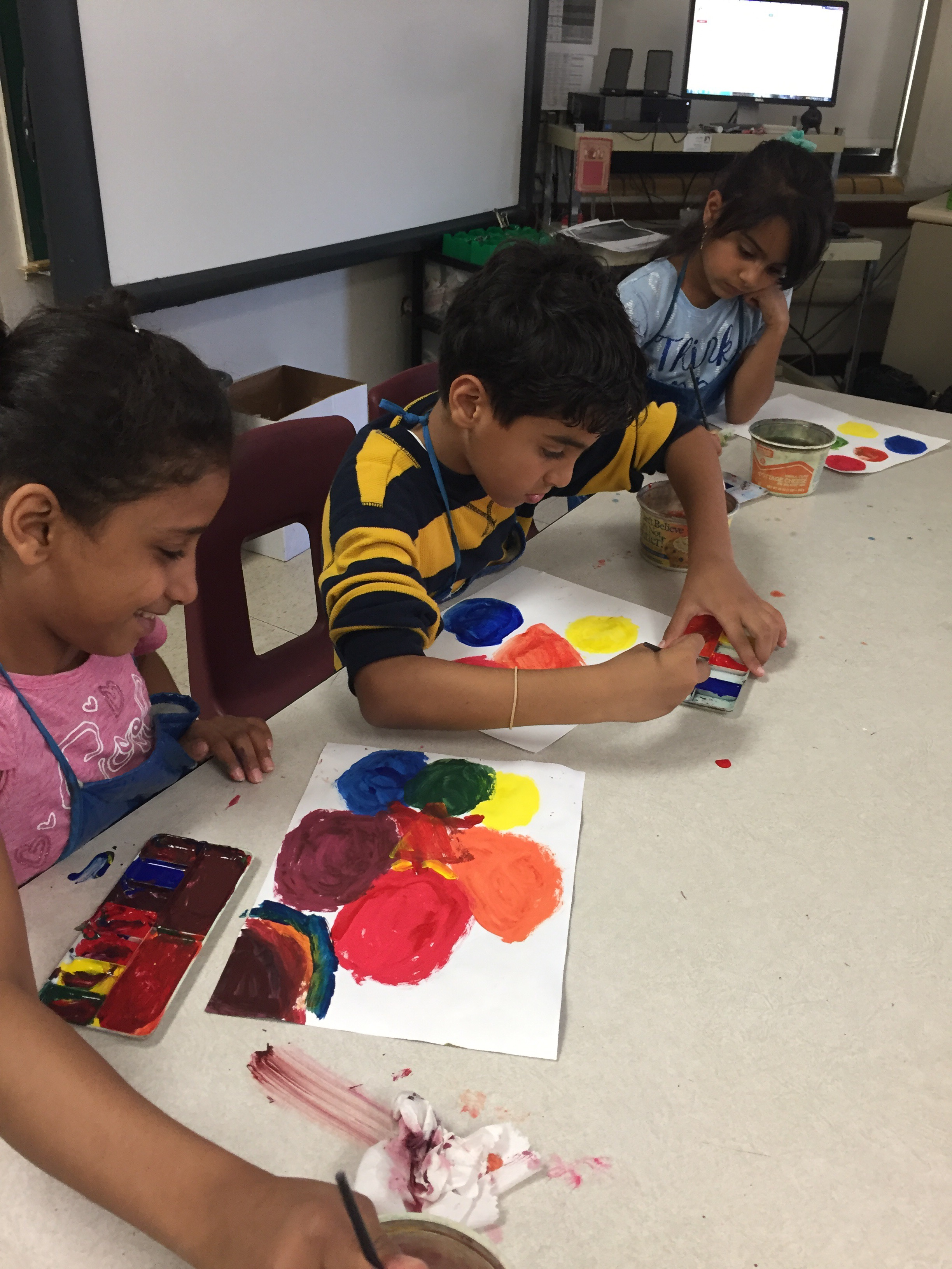 Elementary Color Mixing Worksheet