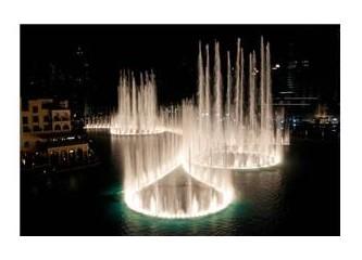 """Dünyanın en pahalı fıskiyesi - """"Dubai Burj-Halifa"""""""