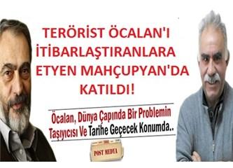"""Öcalan'a """"ideolojik olarak rehber ve lider"""" diyen Etyen Mahçupyan'a cevap"""