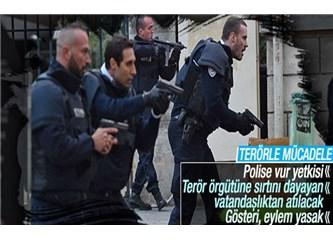 Fransa terörle mücadelede ne yapsa kabul, aynısını Türkiye yapsa?