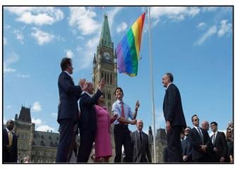 Kanada Başbakanı Justin Trudeau'nun utanç verici LBGTİ hareketi!