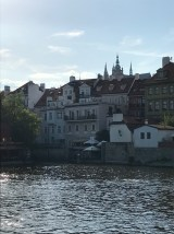 Building on the Vltava