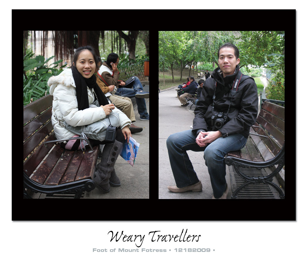 weary travellers