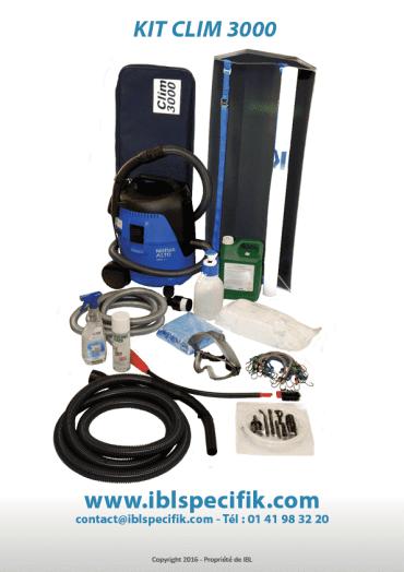 Machine vapeur professionnel spécial Climatisation   Kit Clim 3000 Accessoires