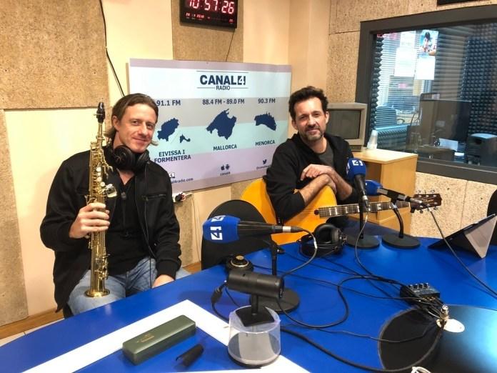 Norbert Fimpel y Tolo Servera en canal 4 radio