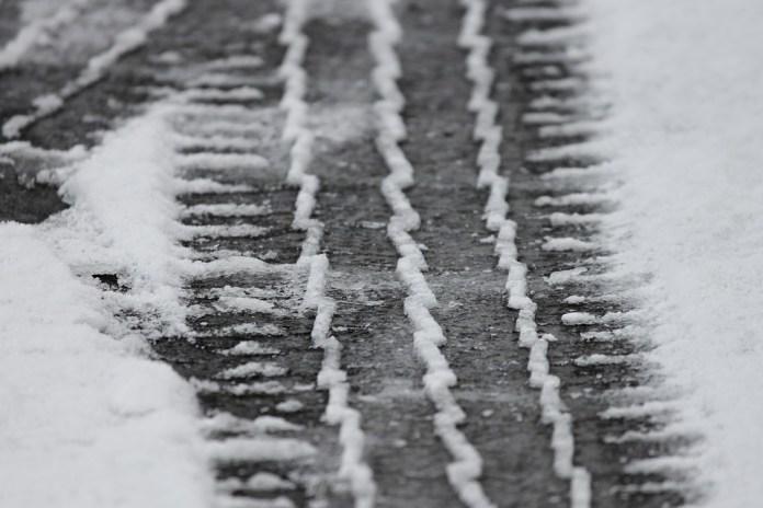 carretera con nieve Mallorca
