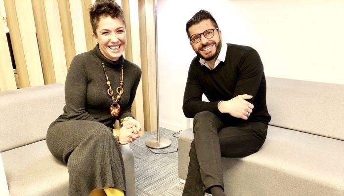 Roberto Fluxá y Carmen Artero