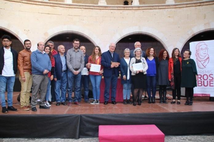 entrega de los premios Rosa Bueno