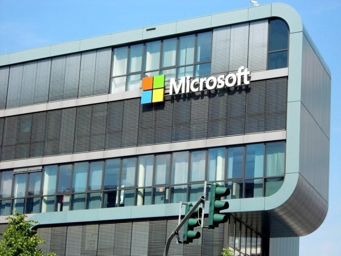 Edificio de Microsoft en colonia
