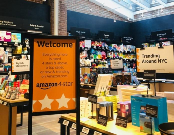 Amazon 4-stars shop