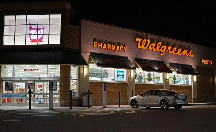 Walgreens escáner iris