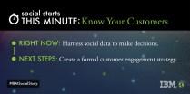 (Customer Engagement) Social Study- https://ibm.biz/SocStudy