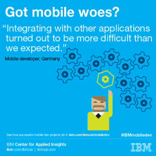 Challenges mobile development projects face & how to overcome them - ibm.com/ibmcai/mobiledev
