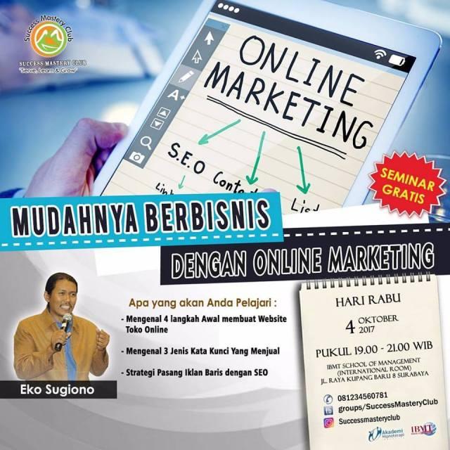 Mudahnya Berbisnis Dengan Online Marketing