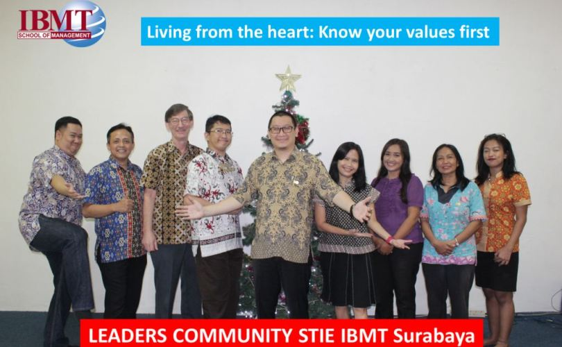 Living from the heart: Know your values first