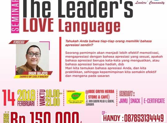 The Leader's - Love Language