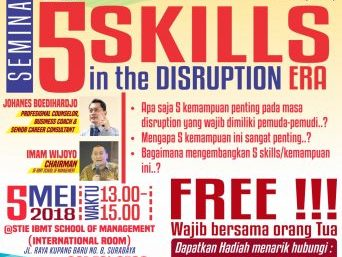 Top 5 Skills in the Disruption ERA