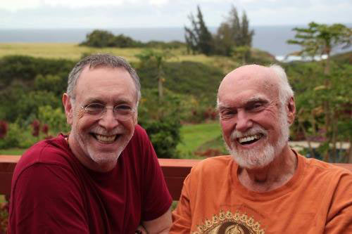 Krishna Das og Ram Dass
