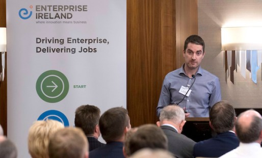 Enterprise Ireland Trade Mission to Scotland , Sheraton Hotel, Edinburgh - picture shows Paul Neary, Neo Enviromental - picture by Donald MacLeod - 08.11.16 - 07702 319 738 - clanmacleod@btinternet.com - www.donald-macleod.com