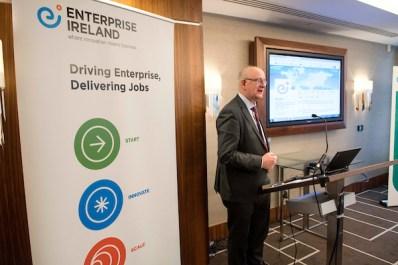 Enterprise Ireland Trade Mission to Scotland , Sheraton Hotel, Edinburgh - picture shows Tom Kelly, Enterprise Ireland - picture by Donald MacLeod - 08.11.16 - 07702 319 738 - clanmacleod@btinternet.com - www.donald-macleod.com