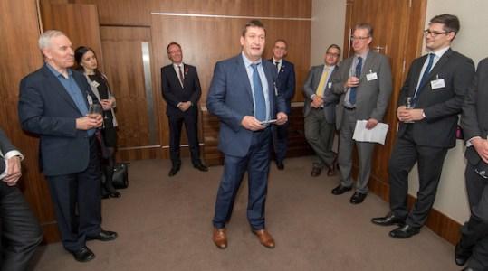 Enterprise Ireland Trade Mission to Scotland , Sheraton Hotel, Edinburgh - Colm Maloney, Irish Business Network Scotland - picture by Donald MacLeod - 08.11.16 - 07702 319 738 - clanmacleod@btinternet.com - www.donald-macleod.com