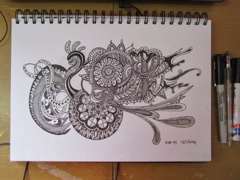 Libretas De Dibujo De Un Artista Freelance: Doodle Name Art Simple Free Coloring Pages