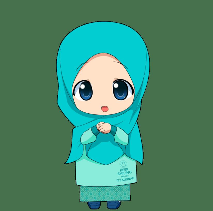 500  Gambar Kartun Muslimah Terbaru Kualitas HD [2018]