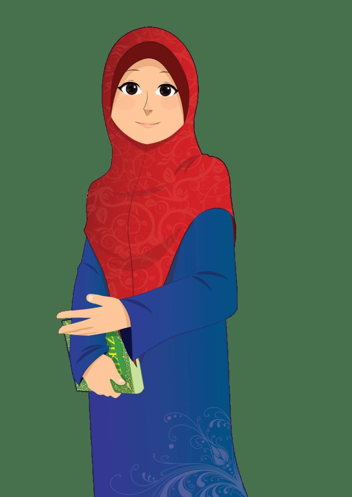 51+ Gambar Animasi Keren Muslim Kekinian