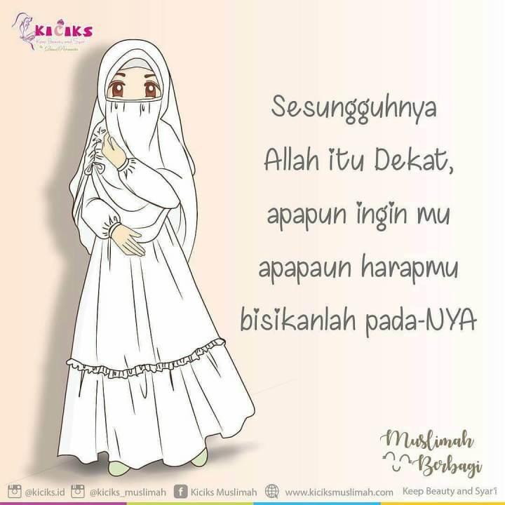 Gambar Muslimah Bercadar
