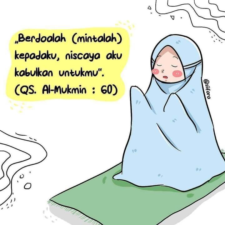 2019 Gambar Kartun Muslimah Terbaru Kualitas Hd