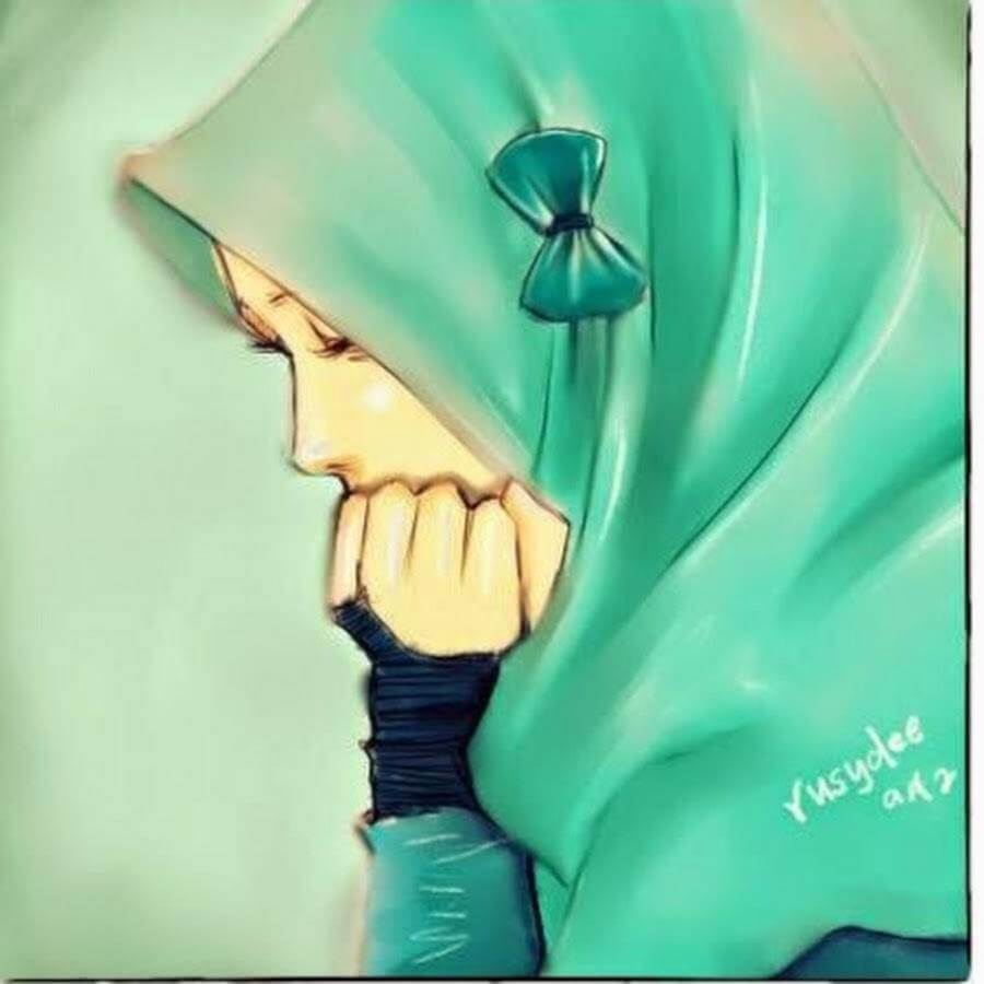 √ 2019 Gambar Kartun Muslimah Terbaru Kualitas HD