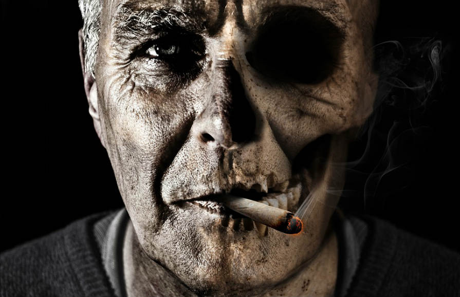 タバコ 老化