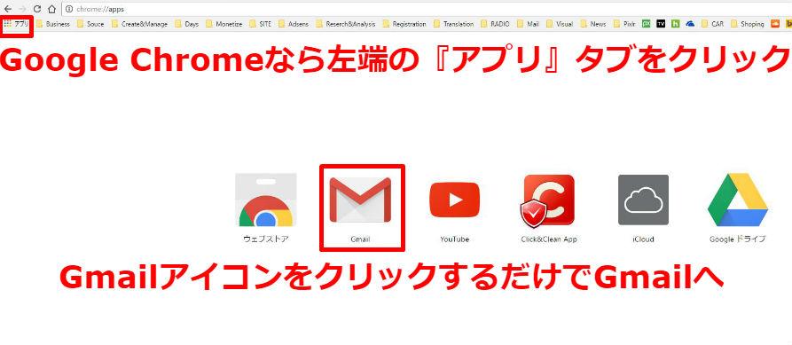 Gmail 複数